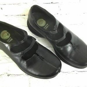 Earth Shoes Womens Shoes Size 6 M Black Leather Fl